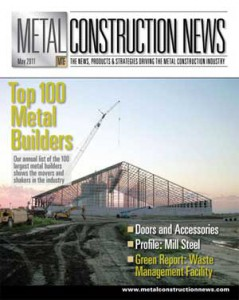 Metal Construction News Cover 2011