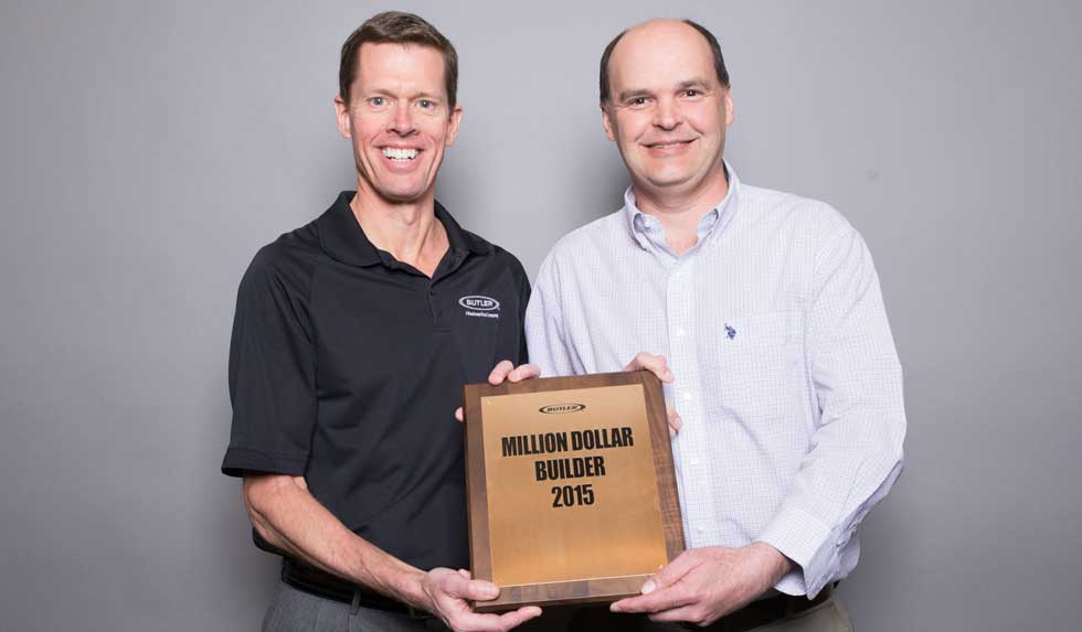 W. K. Thomas wins Million Dollar Builder Award 2015
